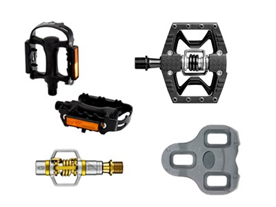 Pedals and Cleats