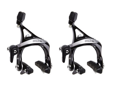 SRAM Rim brake set Rival 22 Front and rear Black anodized