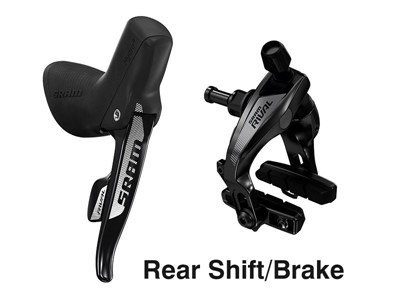 SRAM Shift/Hydraulic rim brake Rival 22 11 speed Rear shift/rear brake