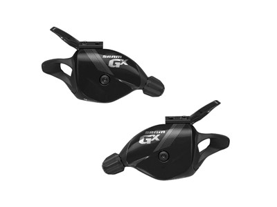 SRAM Trigger shifter set GX Black 2x10 speed Front and rear