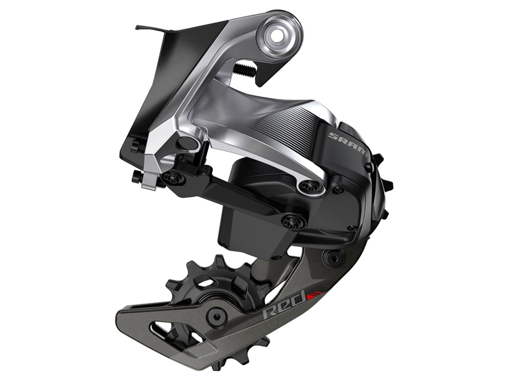 SRAM Rear derailleur Red eTAP 11 speed Carbon cage Black