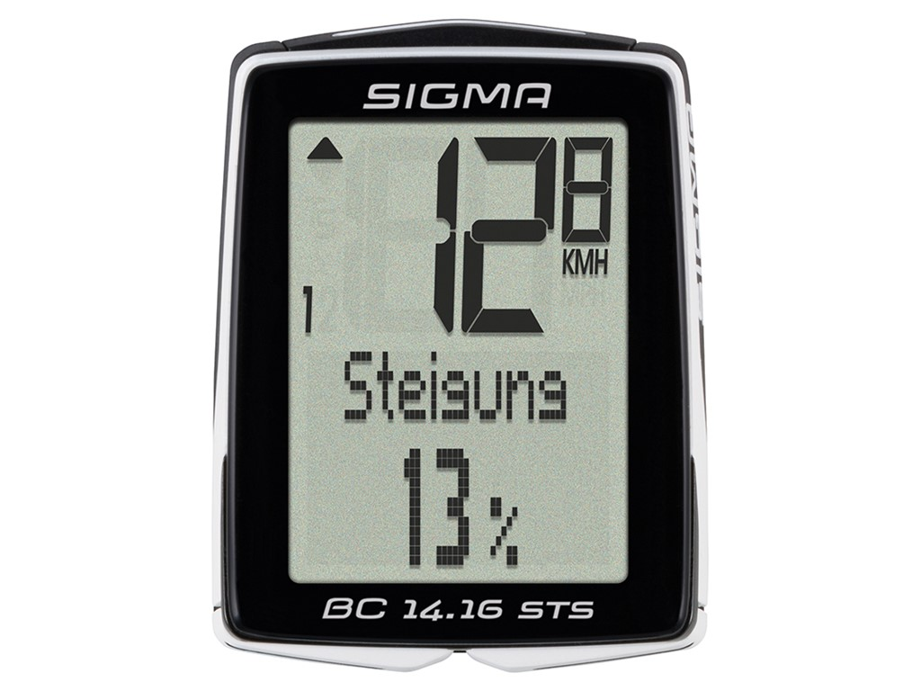 SIGMA Bicycle computer BC 14.16 STS CAD