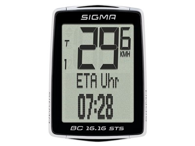 SIGMA Bicycle computer BC 16.16 STS CAD