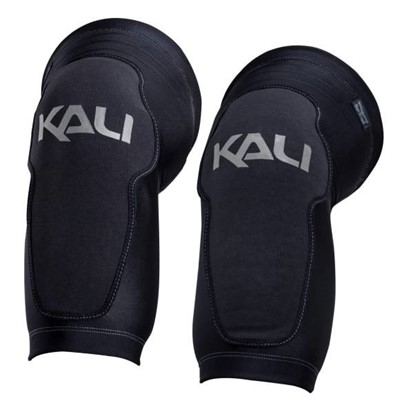KALI Mission Knee guard Small (39-42 cm) Black/grey Kali logo