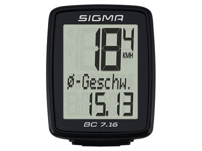 SIGMA Bicycle computer BC 7.16