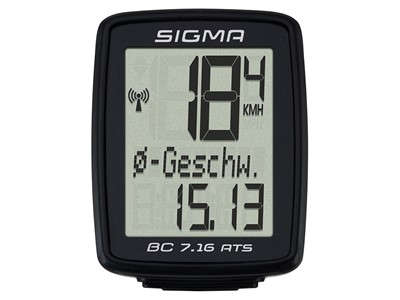 SIGMA Bicycle computer BC 7.16 ATS