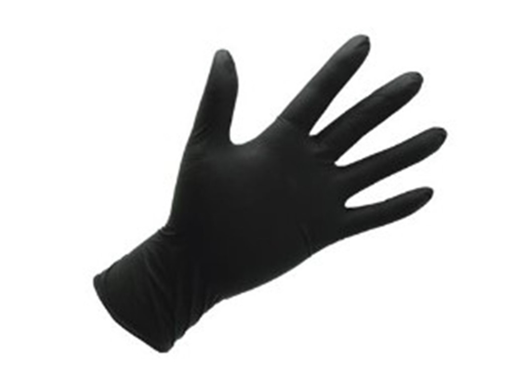 CYCLE SERVICE NORDIC Nitril gloves Size S Black