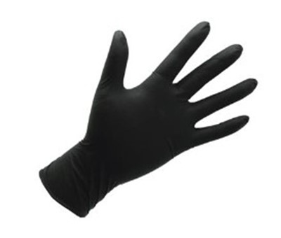 CYCLE SERVICE NORDIC Nitril gloves Size M Black