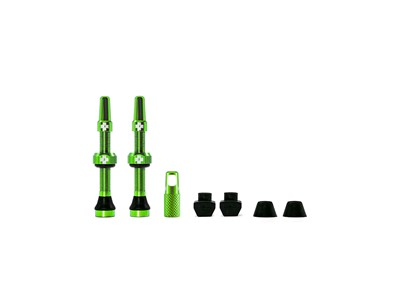MUC-OFF Tubeless Valve Kit 44 mm Green
