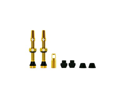MUC-OFF Tubeless Valve Kit 44 mm Gold