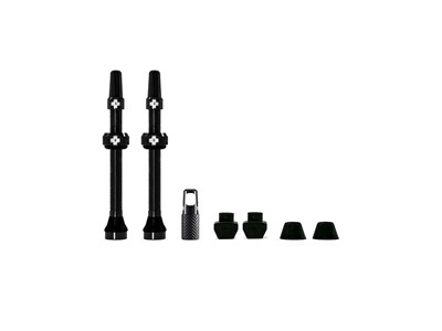MUC-OFF Tubeless Valve Kit 60 mm Black