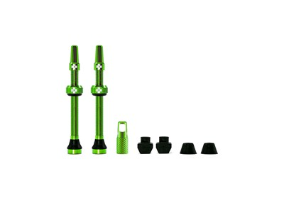 MUC-OFF Tubeless Valve Kit 60 mm Green