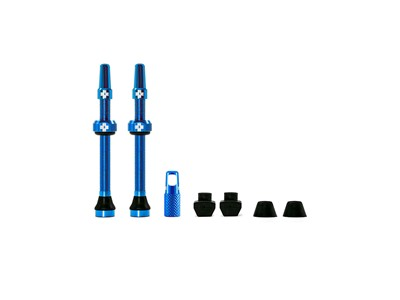 MUC-OFF Tubeless Valve Kit 60 mm Blue