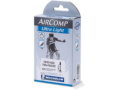 MICHELIN Aircomp Ultralight tube 700 x 18-23C Presta 60 mm