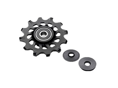 ABSOLUTEBLACK Pulley wheels XX1, X01, X1, Force/Rival/Apex CX1 Stainless steel bearings