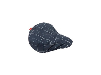 New Looxs Check Blue Saddle cover