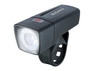 SIGMA Front light Aura 25 Black