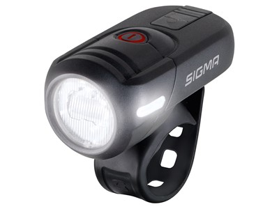 SIGMA Front light Aura 45 USB Black