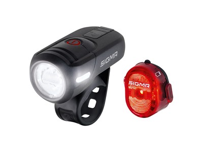 SIGMA Light set Aura 45 USB/ Nugget II Black/ red