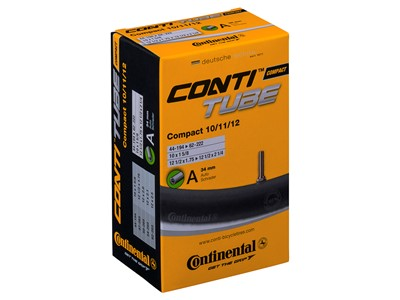 CONTINENTAL Compact Tube (44-62x194-222) Schrader 34 mm