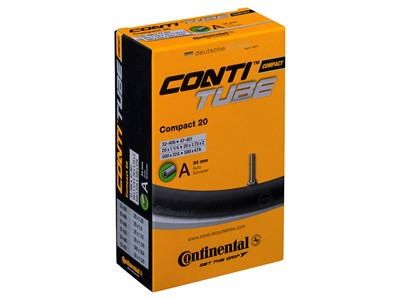 CONTINENTAL Compact Tube (32-47x406-451) Schrader 34 mm