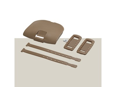 URBAN IKI Child seat styling set Front Brown
