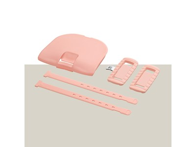 URBAN IKI Child seat styling set Front Peach