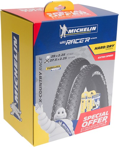 MICHELIN Wild Race'R kit 27,5 Folding tire 27,5 x 2,25 (57-584)