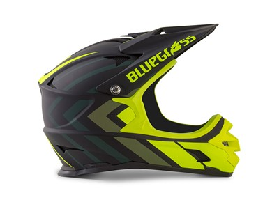 Bluegrass Helmet MTB - Full face Intox L (58-60 cm) Black/Fluo Yellow