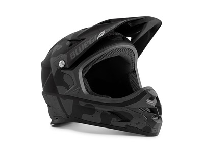 Bluegrass Helmet MTB - Full face Intox Medium (56-58 cm) Black Camo