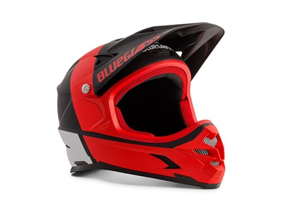 Bluegrass Helmet MTB - Full face Intox Medium (56-58 cm) Black/Red/White