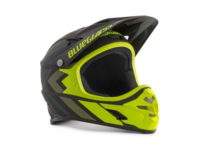Bluegrass Helmet MTB - Full face Intox Medium (56-58 cm) Black/Fluo Yellow