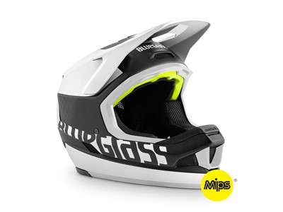 Bluegrass Helmet MTB - Full face Legit Carbon Medium (56-58 cm) Black/White
