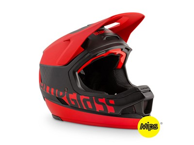 Bluegrass Helmet MTB - Full face Legit Carbon Medium (56-58 cm) Black/Red
