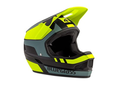 Bluegrass Helmet MTB - Full face Legit Large (58-60 cm) Fluo Yellow