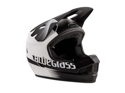 BLUEGRASS Helmet MTB - Full face Legit M (56-58 cm) White/Black