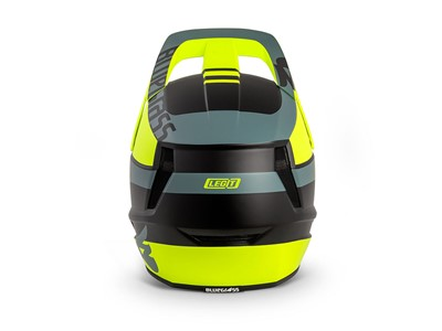 BLUEGRASS Helmet MTB - Full face Legit M (56-58 cm) Fluo Yellow