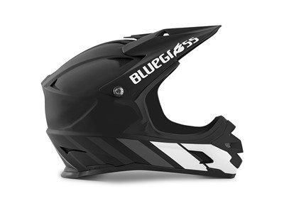 BLUEGRASS Helmet MTB - Full face Intox M (56-58 cm) Black/White