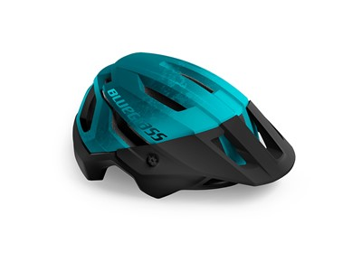 BLUEGRASS HELMET MTB/Trail/Enduro ROGUE 56-58 Petrol Blue/Matt