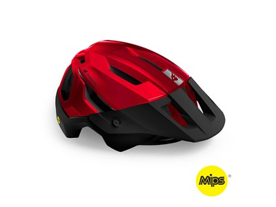 BLUEGRASS HELMET MTB/Trail/Enduro ROGUE MIPS 52-56 Metallic Red/Matt Glossy