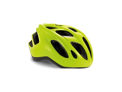 MET Helmet Active/Crossover Espresso S (52-57 cm) Safety Yellow/Glossy