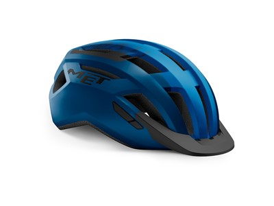 MET HELMET Active/Crossover ALLROAD (58-61) Blue Black/Matt