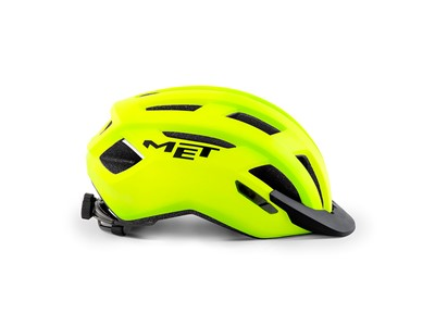 MET Helmet Active/Crossover Allroad L (58-61 cm) Safety Yellow/Matt