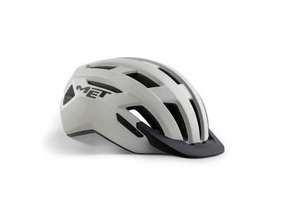 MET Helmet Active/Crossover Allroad L (58-61 cm) Grey/Matt