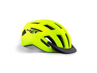 MET Helmet Active/Crossover Allroad M (56-58 cm) Safety Yellow/Matt