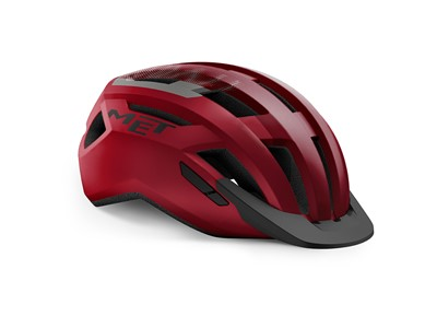 MET HELMET Active/Crossover ALLROAD (56-58) Red Black/Matt