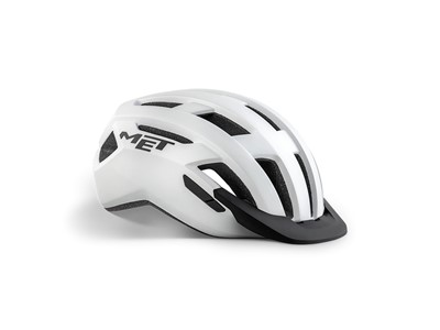 MET Helmet Active/Crossover Allroad S (52-56 cm) White/Matt