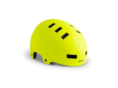 MET Helmet Urban Zone L (60-62 cm) Safety Yellow/Matt