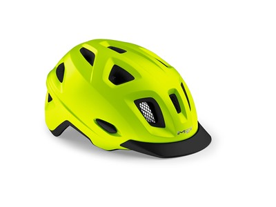 MET HELMET Urban MOBILITE (52-57) Yellow/Matt