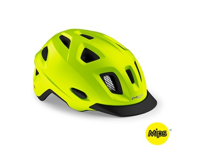 MET HELMET Urban MOBILITE MIPS (52-57) Safety Yellow/Matt